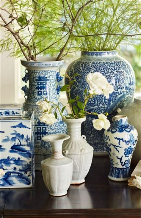 ginger jar table ls chinoiserie ceramic collection jars centerpieces and