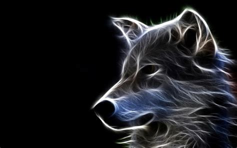 Cool Animal Wallpaper Light Wolf - abstract wolf android wallpapers cool artworks