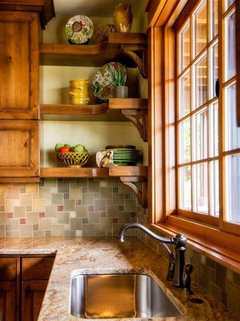 Kitchen Sinks, Open Shelving and Countertops in Yorktown