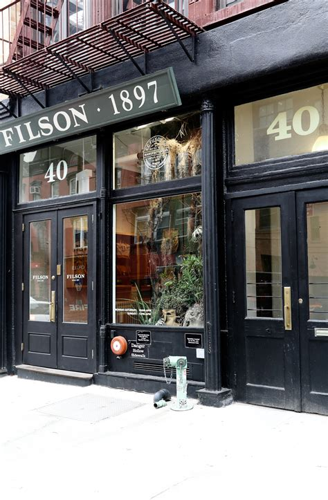 Nyc Concept Store Find Filson Flagship  Melting Butter