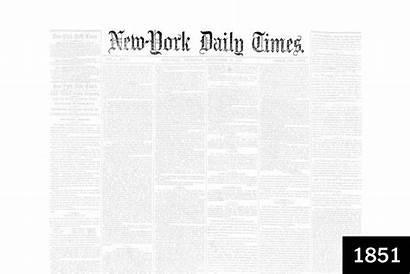 Times York Newspaper Evolution Fonts Font Headline