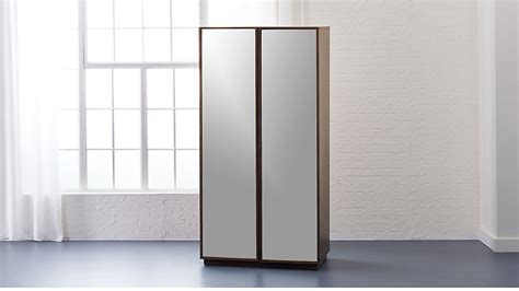 Big Wardrobe by Reflection Mirror Wardrobe Reviews Cb2