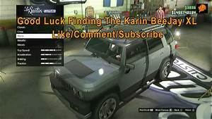 GTA Online Karin BeeJay XL Location - YouTube