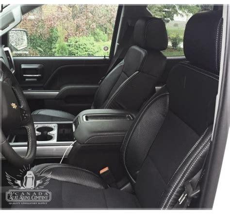 2017 Chevrolet Silverado Double Cab Katzkin Leather Seat