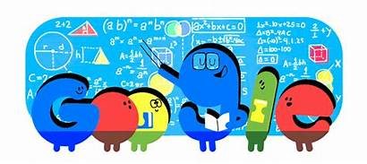 Teachers Google Doodles States United Logos
