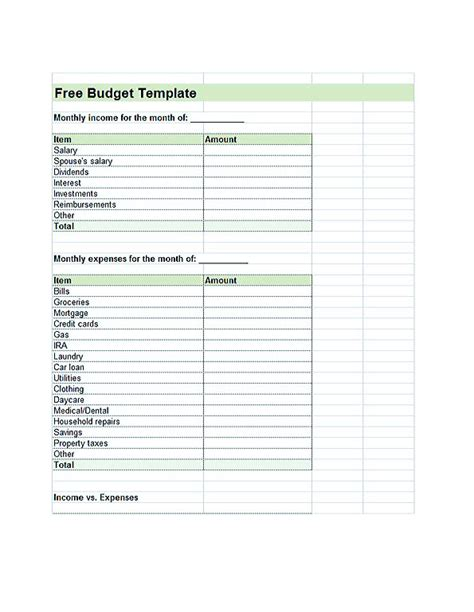 budget template google cool budget template you definitely to use today