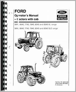 Ford 6640 Tractor Operators Manual