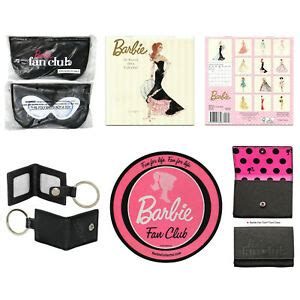 BARBIE COLLECTOR Fan Club Mouse Pad Key Ring Card Case ...