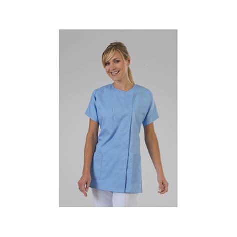 vetement de cuisine professionnel pas cher blouse medciale ciel hauteur buste pour infirmière label blouse