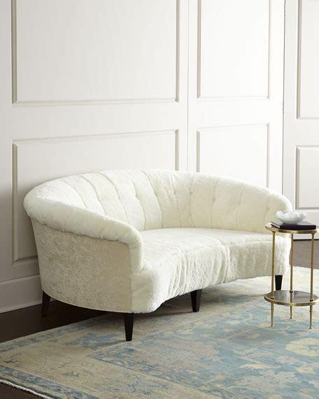 hickory tannery hollis sheepskin sofa