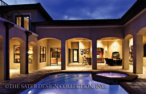 home plan bergantino sater design collection