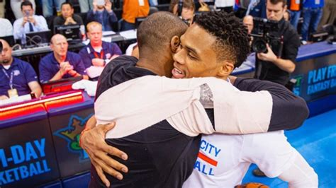 Russell Westbrook Pays Tribute To His 'idol And
