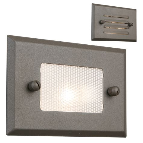 portfolio  watt bronze  voltage step light  lowescom
