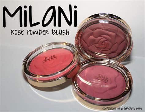 milani rose powder blush stay confessions