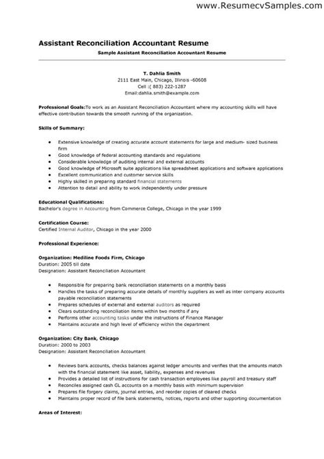 Resume For Accounting Assistant by Accounting Assistant Resume Sles 2015 Let Me Help You