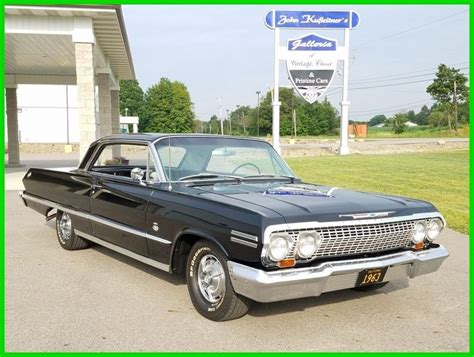 Chevrolet Ss For Sale by 1963 Chevrolet Impala Ss For Sale