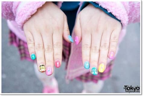 konichiwa  awesome japanese nail art designs