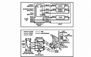 Bathroom Exhaust Fan With Light Wiring  With Images