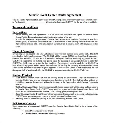 simple rental agreement    documents