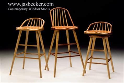 Contemporary Windsor Stools   Jas. Becker Cabinetmaker