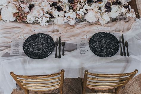 celestial romance wedding inspiration  cornelia lietz