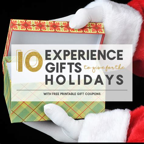 10 experience gifts to give this holiday season