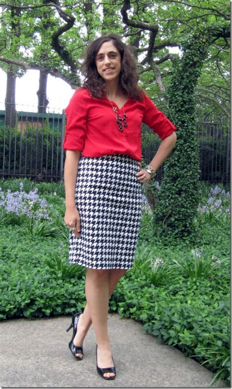 Houndstooth Skirt Outfit Ideas | www.pixshark.com - Images Galleries With A Bite!
