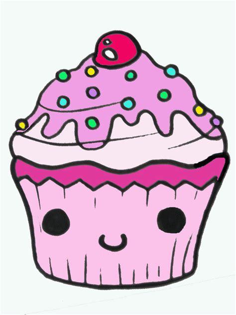 cupcake  drawing   clip art