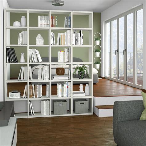 libreria a giorno ikea idee come separare gli ambienti senza muri arredaclick