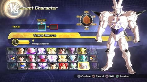 dragon ball xenoverse   characters roster