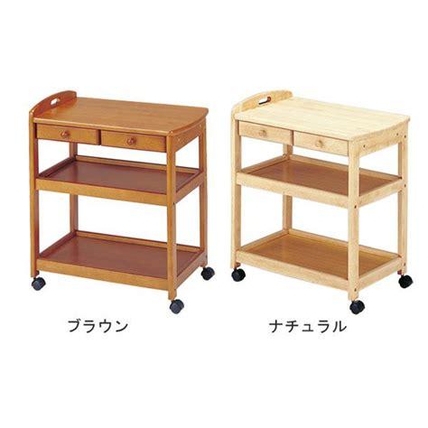 kitchen storage trolley clearance atom style rakuten global market wooden kitchen trolley 6199