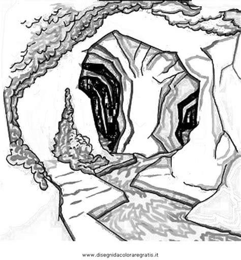 zerbino significato disegno grotta da colorare