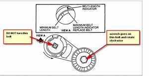 I Need A Diagram For A Serpentine Belt On A 2000 Windstar