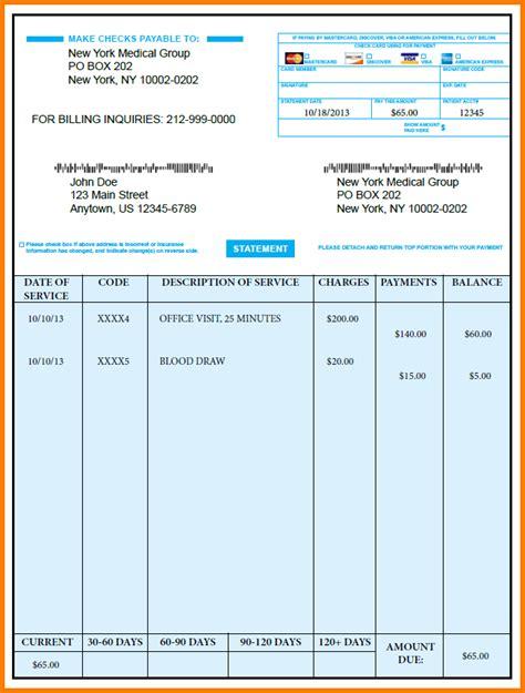 medical bill template merrychristmaswishesinfo