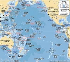 Pacific Ocean | Description, Location, Map, & Facts ...