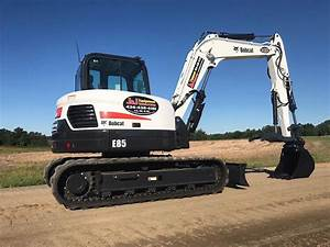 2017 Bobcat E85 Compact Excavator For Sale, 720 Hours ...