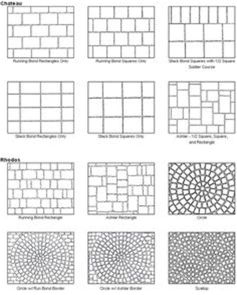 names of brick patterns paver patio designs these would also make great quilt layout designs too keep in mind that we