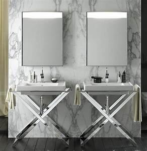 lavabo design sur pied de salle de bain photo 10 20 un With lavabo design salle de bain