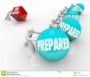 Prepared Vs Unprepared Advantage Ready Unready Stock ...