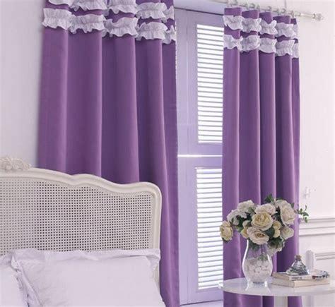 elegant purple curtains  bedroom atzinecom