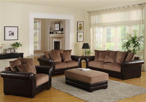 living room color ideas  brown furniture modern house