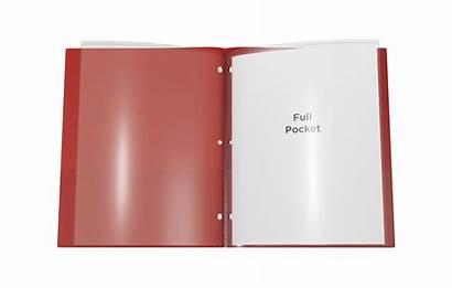 Folder Pocket Nicky Sleeves Inside Presentation Plastic