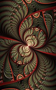 Abstract Fractal Patterns