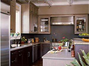 20 idees deco pour une cuisine grise deco coolcom With quelle couleur avec du gris clair 3 deco cuisine sejour salon