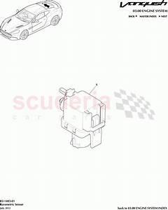 Aston Martin Vanquish  2012   Barometric Sensor Parts