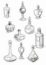 Potion Tattoo Bottles Bottle Drawing Tattoos Wonderland Alice Deviantart Cool Drawings Filler Halloween Google Coloring Sketches Samples Perfect Witch Doodle sketch template