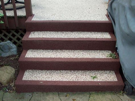 wood deck concrete patio deck design and ideas