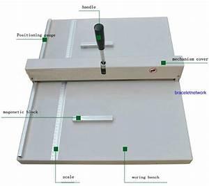 A3 Paper Folding Machine Creasing 460mm Manual Paper