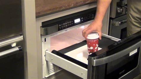 sharp microwave drawer youtube