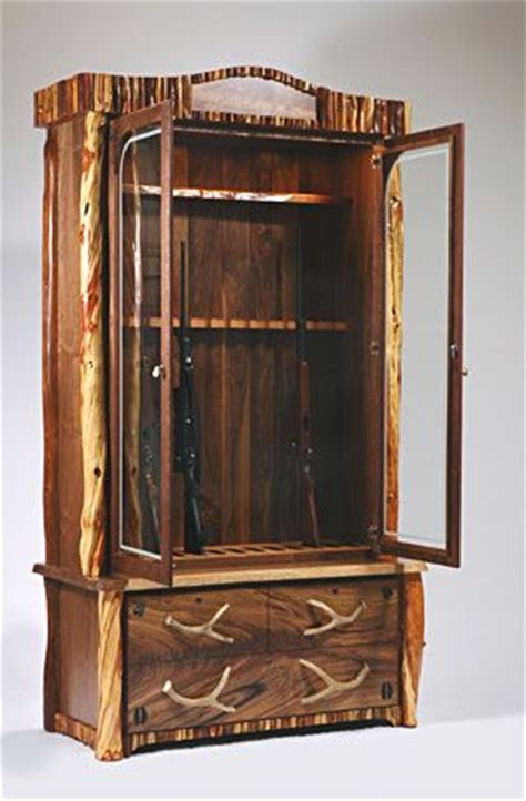 build  simple gun cabinet woodworking projects